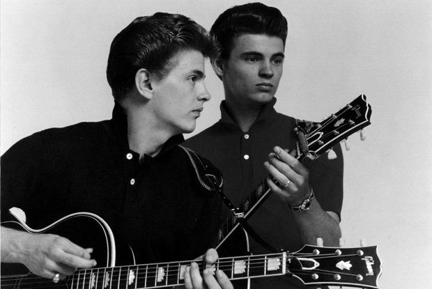 "The Everly Brothers perform a pair of their classic hits, ""Wake Up Little Suz..."