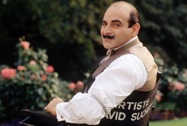 David Suchet as detective Hercule Poirot. After 25 years of playing one of te...