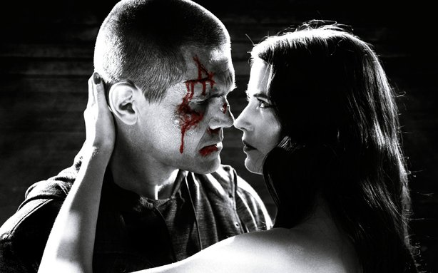 "Josh Brolin's Dwight falls hard for Eva Green's Ava in the new movie ""Sin City 2: A Dame to Kill For."""