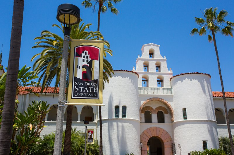 San Diego State University's Hepner Hall.