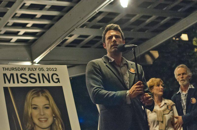 Ben Affleck stars as Nick Dunne, a man whose wife goes missing in