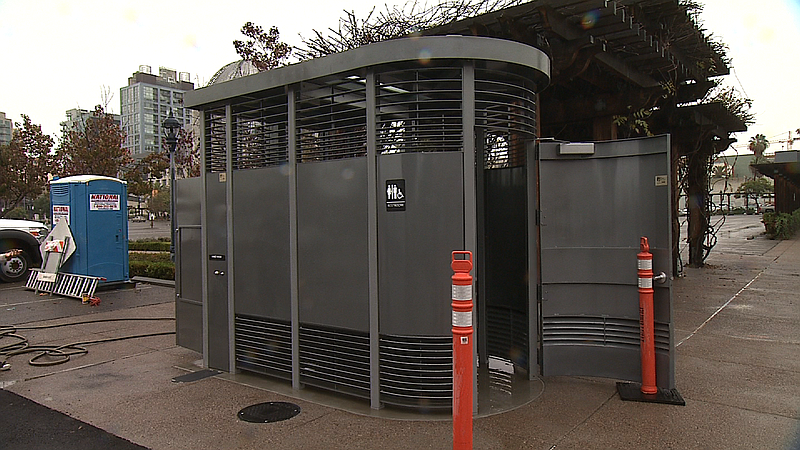 The Portland Loos were installed in downtown in December and January, Dec. 3,...