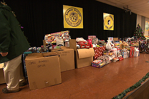 700 Toys Collected For Barrio Logan Children