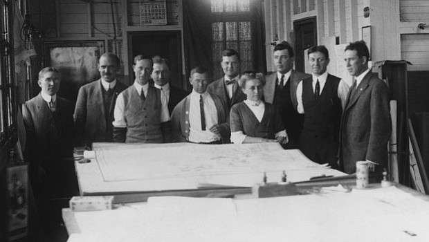 Architects for 1915 Exposition - 1912.