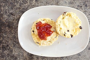 AMERICA'S TEST KITCHEN FROM COOK'S ILLUSTRATED: Almond Cake And British Scones