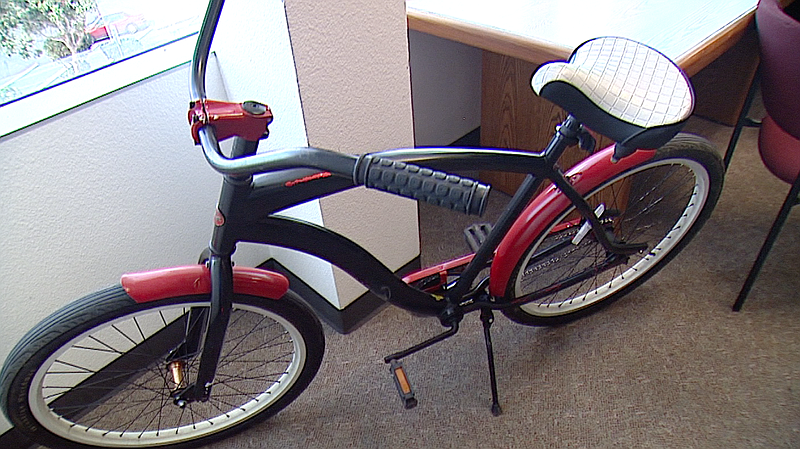 Pictured is a refurbished bike that was given to a former inmate on Feb. 2, 2...