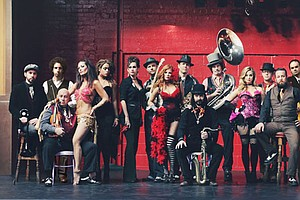 LIVE AT THE BELLY UP: Vaud And The Villains