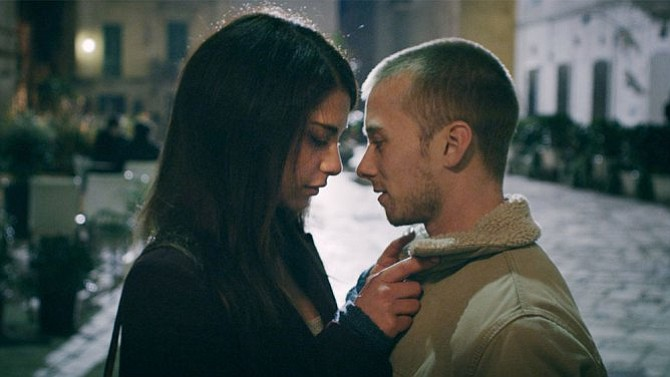 Nadia Hilker and Lou Taylor Pucci star as unlikely lovers in the horror-roman...