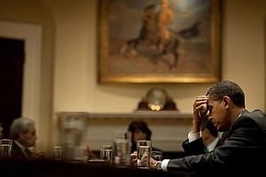 Photo for FRONTLINE: Obama At War