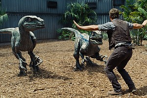 'Jurassic World' Reveals Dinos Have Evolved But Story Hasn't