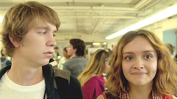 Greg and Rachel in the film
