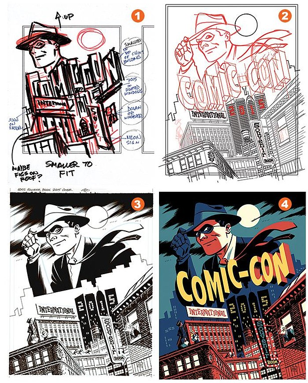 """The exhibit """"The Art of Comic-Con"""" offers a sneak peek at Michael Cho's Comic..."""