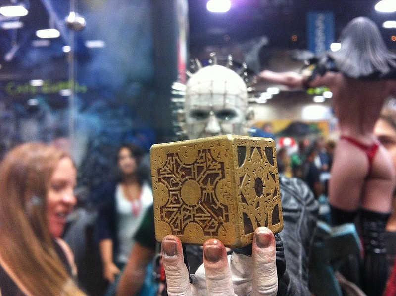 Sideshow Toys always features detailed statues and figures at their Comic-Con...