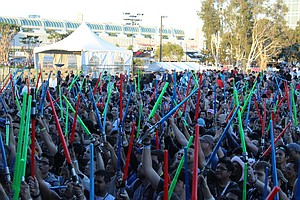 Behind The Scenes At The Symphony's Surprise Star Wars Co...