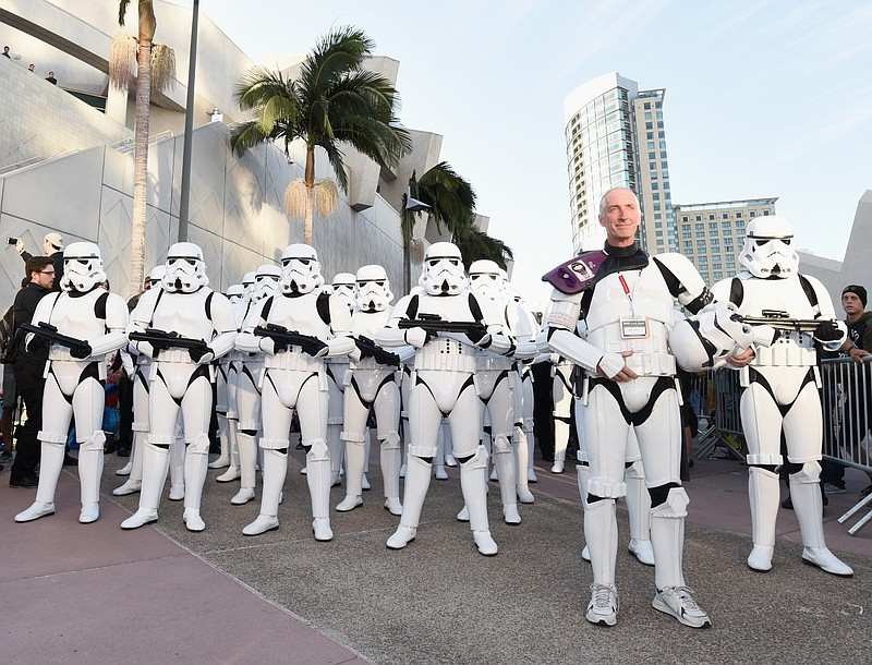 Hall H is easy to clear out when you have Stormtroopers to help and a surpris...
