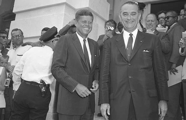 lbjs office president. President John Fitzgerald Kennedy And Vice Lyndon Baines Johnson. Lbjs Office T