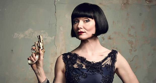 Essie Davis as Miss Phryne Fisher