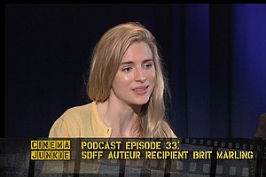 Podcast Episode 33: SDFF Auteur Award Recipient Brit Marling