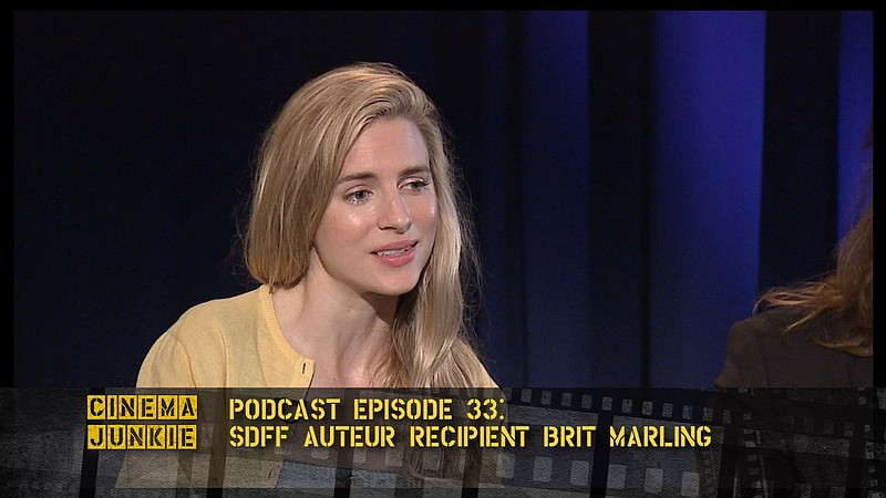 Podcast 33: Actress, writer, and producer Brit Marling is featured in two int...