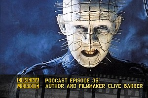 Podcast Episode 35: Author And Filmmaker Clive Barker