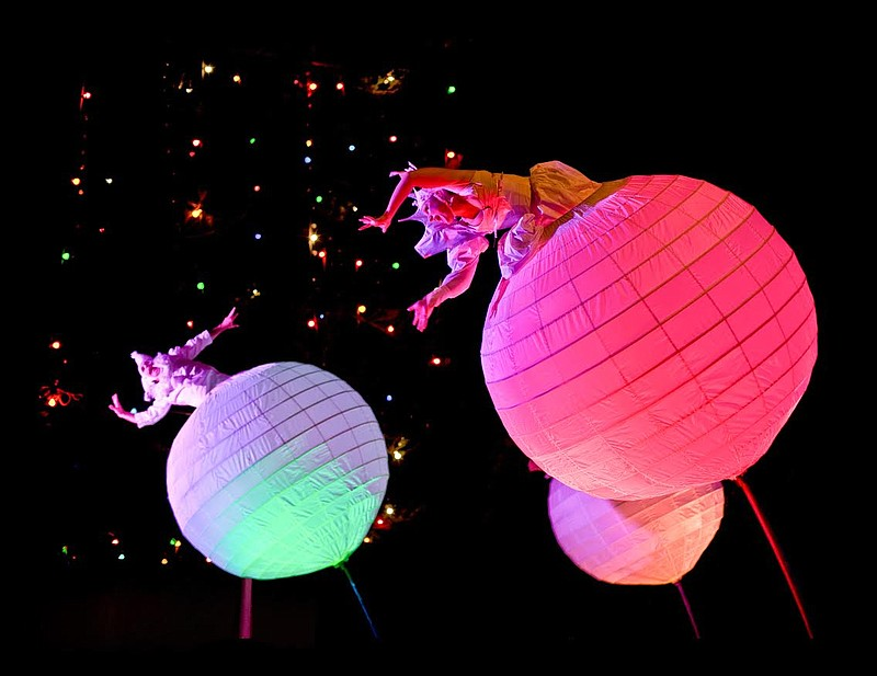 Photo of The Spheres, part of La Jolla Playhouse's Without Walls Festival