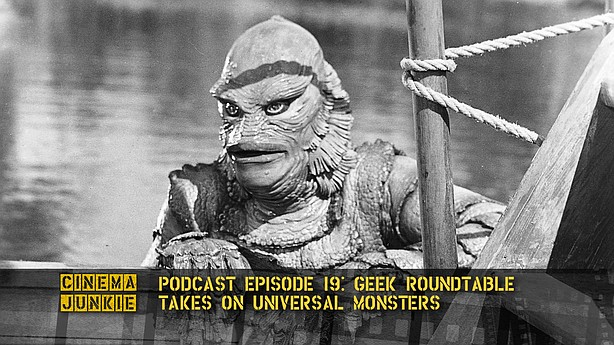 "The Geek Roundtable takes on Universal monsters like ""The Creature From the B..."