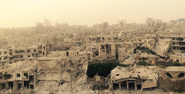 Correspondent Martin Smith goes inside Syria to report from government-contro...