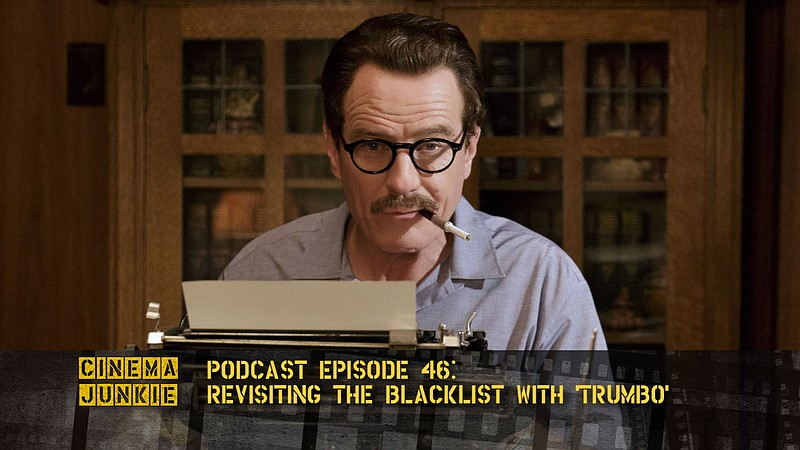 Bryan Cranston stars as Blacklisted Hollywood screenwriter Dalton Trumbo in t...