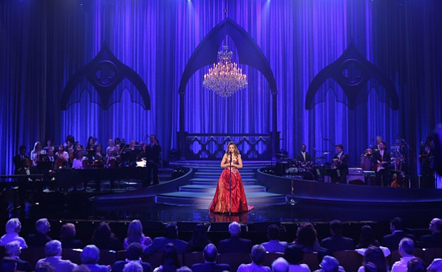 Backed by a 26-piece orchestra, the Italian songstress Giada Valenti celebrat...