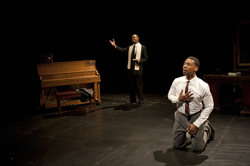 Michael Benjamin Washington and Jacques C. Smith in La Jolla Playhouse's DNA ...