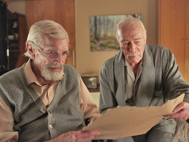 Martin Landau and Christopher Plummer play two elderly Jewish men that decide...