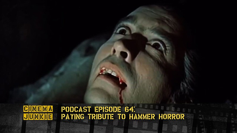 Christopher Lee plays the bloodsucking Count in Hammer Films'