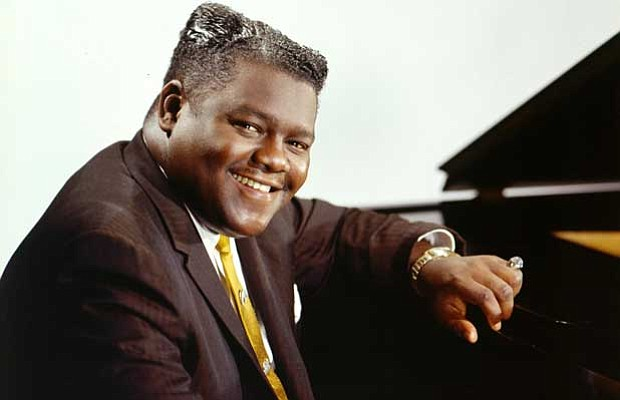 Fats Domino at piano.