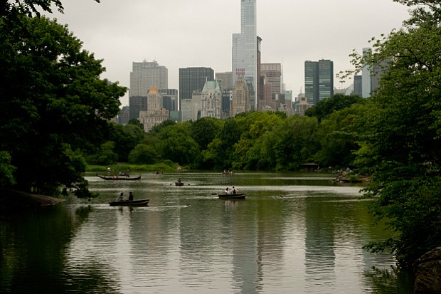 In 1858, Frederick Law Olmsted and Calvert Vaux won a competition to design C...