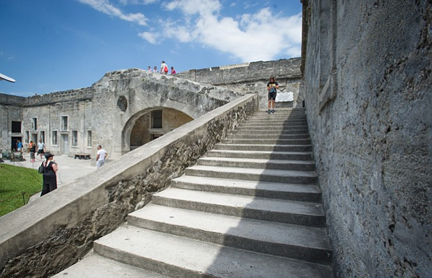 St. Augustine, Florida, is America's oldest colonial town and the first plann...