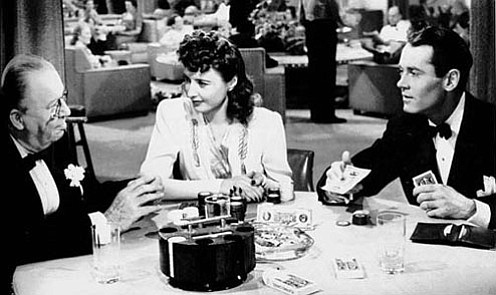 Charles Coburn and Barbara Stanwyck are a father and daughter who disagree on...