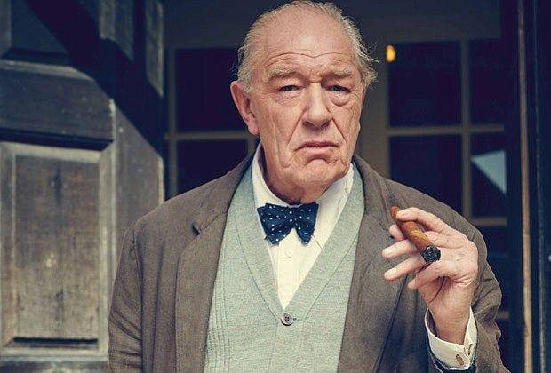 Michael Gambon as Winston Churchill.