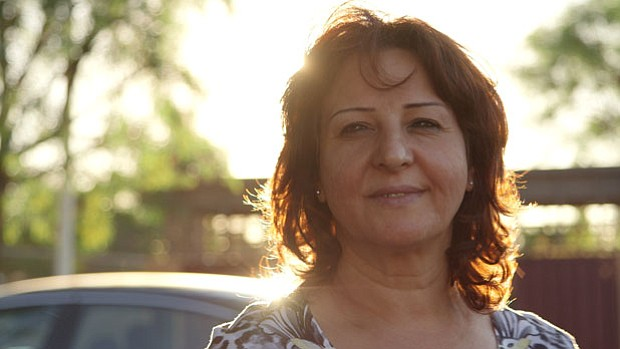 Glades, 48 years old from Baghdad, Iraq. She was granted asylum to the U.S. i...