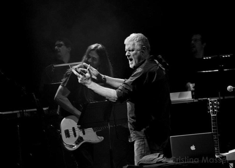Fabio Frizzi, onstage with his band, has been composing scores for Italian ge...