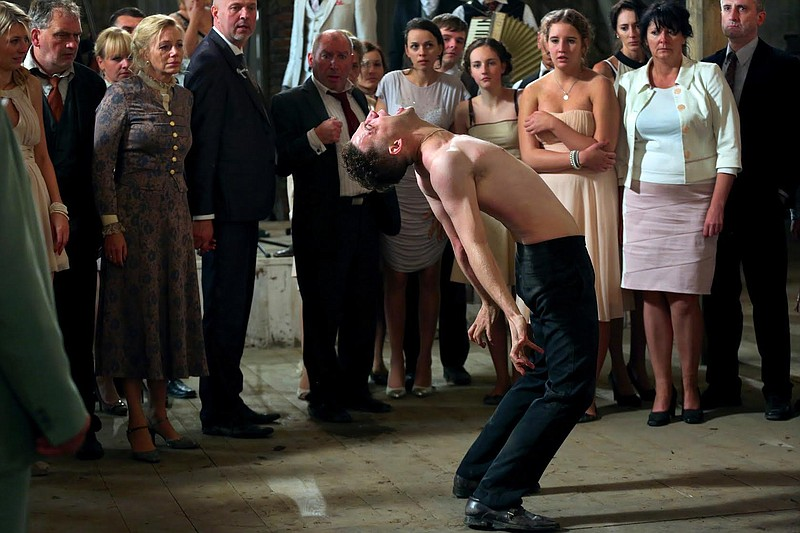 Itay Tiran plays Piotr, a man who gets possessed by a dybbuk in