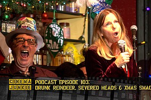 Podcast Episode 103: Drunk Reindeer, Severed Heads And Ch...