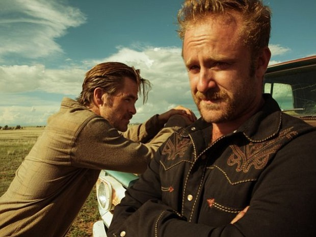 Chris Pine and Ben Foster play brothers on a crime spree in the indie film,
