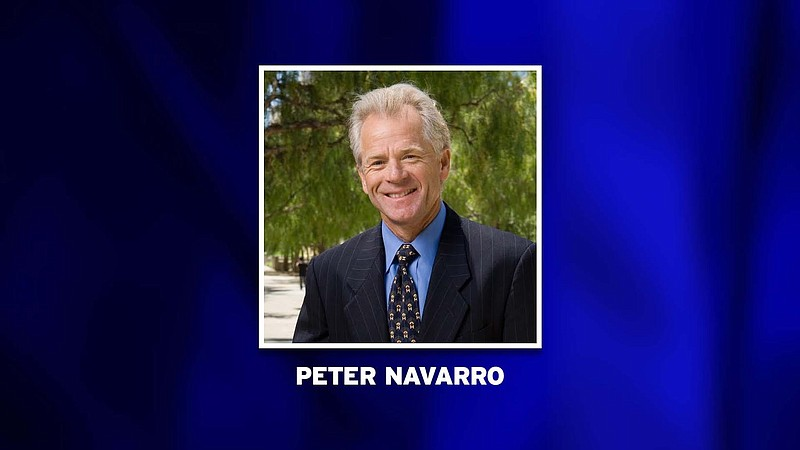 Peter Navarro, professor of economics and public policy at UC Irvine, picture...