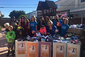 Thousands Of Socks Donated To Help Homeless Youth