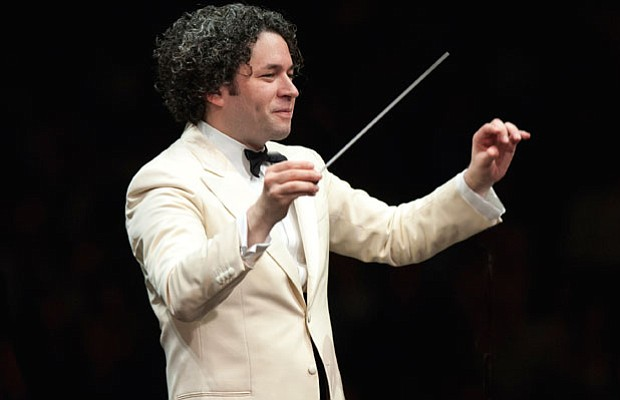 "Gustavo Dudamel in GREAT PERFORMANCES ""From Vienna - The New Year's Celebrati..."
