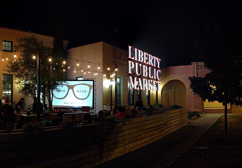 A previous Nerd Nite San Diego at Liberty Public Market.