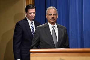 California Hires Former Attorney General Eric Holder To Combat Trump