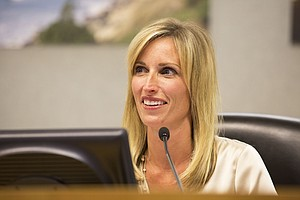 Kristin Gaspar Inaugurated As County's Newest Supervisor