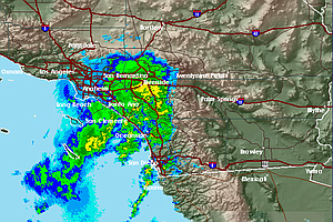 Winter Storm Brings Wind, Rain To San Diego County