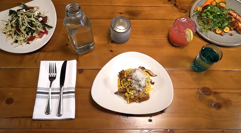 A screen shot from a San Diego Restaurant Week advertisement that was produce...